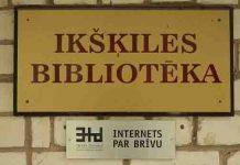 Ikšķiles novada centrālā bibliotēka.