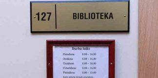 Ikšķiles vidusskolas bibliotēkas darba laiki.
