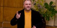 Kaspars Upaciers, 2008.gada 18.oktobris Ikšķiles kultūras biedrības nams, Iedzīvotāju sanāksme
