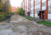 Rudenīgais ielas remonts Skolas 9, Ikšķile