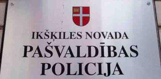 Pašvaldības policija Ikšķiles novadā noteikti ir!