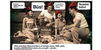 Iedzīvotāju eglīte pikniks!