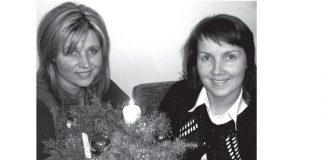 Ikšķiles novada domes deputātes Inguna Bērziņa un Zane Bēķe. Foto no Ikšķiles vēstis.