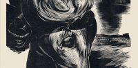Ilustrācija Pucesspieģelim 1960.gads, Grafiķis Oļģerts Ābelīte.
