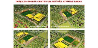 Ikšķilē iecerēts jauns sporta un atpūtas parks.