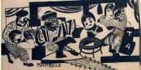 Tušas zimējums. 1930.gads, Grafiķis, Oļgerts Ābelīte