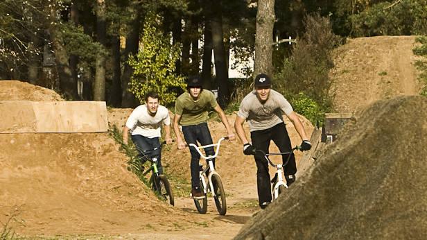 Ikšķiles jaunieši BMX Treilos