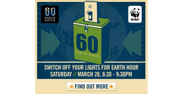 Zemes stunda šī gada 28. martā plkst. 20:30 norisināsies visā Latvijas teritorijā