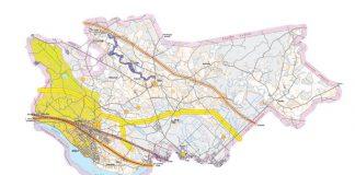 Ikšķiles novada riska objektu teritoriālā shema. Autors: