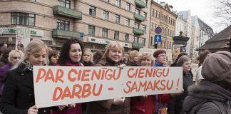 2009.gada 2.aprīļa protesta gājiens.