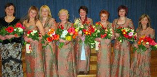 """Ikšķiles sieviešu vokālais ansambļis """"NONA"""". 40 gadu jubilejas koncerts."""