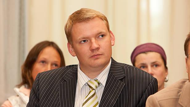 Sabiedriba Citai Politikai valdes loceklis Edvards Smiltēns Ikšķilē.