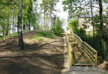 Koka kāpnes Skolas ielā (līgumcena Ls 17598,33 bez PVN)