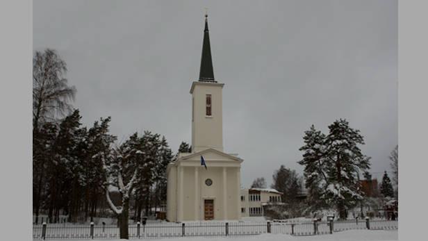 Ikšķiles Luterāņu baznīca 2008.g. 24.novembrī.
