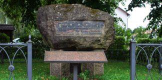 Piemineklis Teodoram Netem. Atrodas Ikšķiles stacijas teritorijā. Mākslinieks Jānis Karlovs.