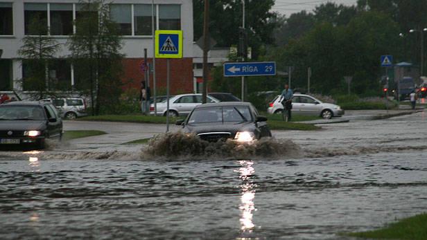 Straujš atkusnis Daugavpils novadā var radīt plūdus