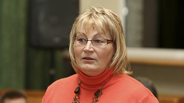 PII Urdaviņa direktore Valda Krinkele, Ikšķiles sporta un atpūtas parka projekta prezentācija.