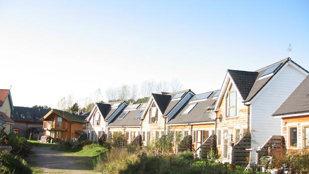Findhornas eko ciemats.