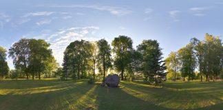 Ikšķiles 800 gadu parks, pirms 2010 gada rekonstrukcijas.