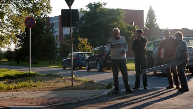 Rīgas ielas pieņemšana.