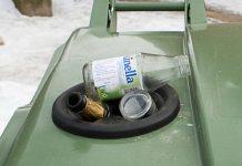 Akritumu šķirošanas konteineri arī Ikšķilē.