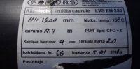 """Caurules izgatavotas 2011.gada 5. janvārī Latvijas uzņēmumā """"Poliurs"""