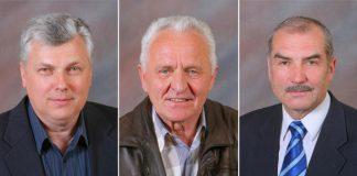 Ikšķiles novada deputāti kas darbojās izpildvarā. \r\nZ.Zēns (INPSIA), J.G.Rubenis (INPSIA), V.Špelis (IND izpilddirektora vietnieks)