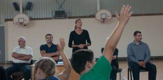 Ikšķiles Igora Miglinieka basketbola skola prezentācija Ikškilē