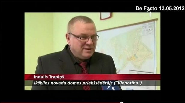 Indulis Trapiņš, De Facto.