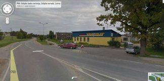 Tīnūži. Ekrānšāviņš no Google Street View