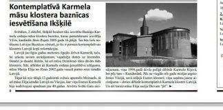 Fragments no Ķeguma novada avīzes