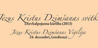 dievkalpojumu kārtiba 2013 gada decembris