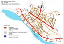 Ikšķiles ielu klasifikācijas shēma. 2011-2023.gads