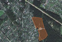 Lībiešu parks, ekranšāviņš no Google maps