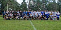 Spēle starp Riga Lions un Igaunijas komandu Tartu Titans un Tallin Storm apvienoto komandu. Foto: Agris Krusts