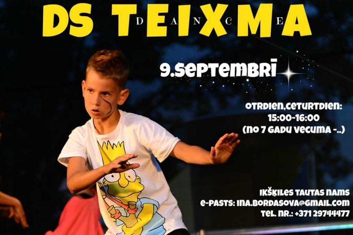 Jaunā deju sezona ir klāt, 9. septembrī Ikšķiles Tautas namā! Deju studija Teixma