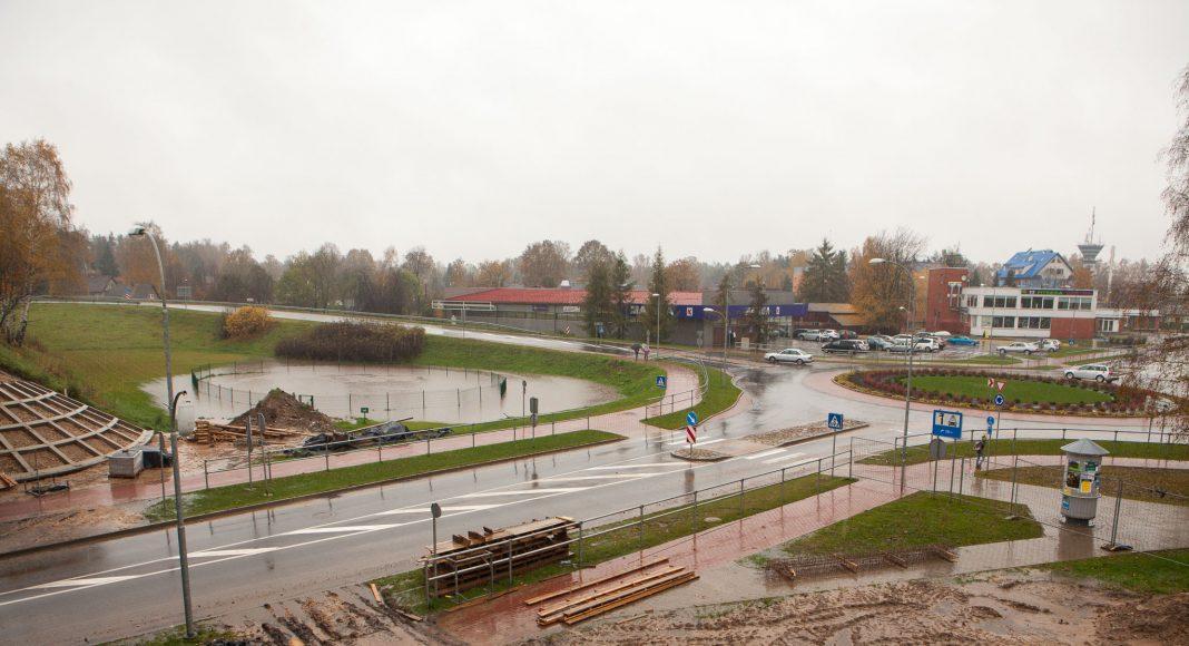 Skats no Rīga-Daugavpils autoceļa
