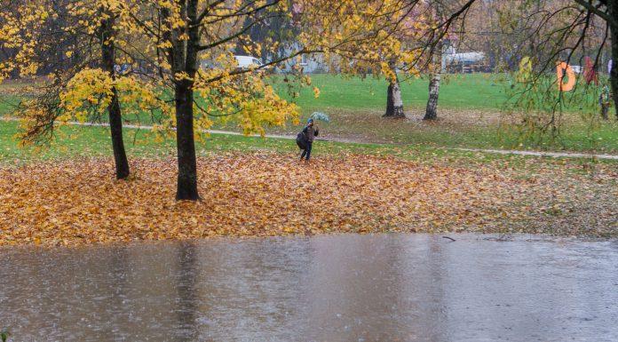 Skolēns iemūžina plūdus