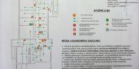 """Ikšķiles Dienas centrs, """"Veselības un sociālo lietu pārvalde"""" ēkas pirmā stāva plānojums"""