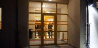 """Ikšķiles Dienas centrs, galvenā ieeja """"Veselības un sociālo lietu pārvalde"""" ēkas atklāšana. 2014.gada 10.novembris"""
