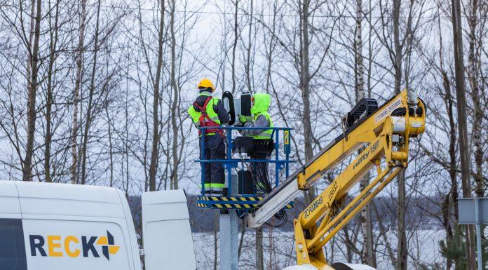 Tiek uzstādīti divi stacionārie foto radari autoceļa A6 Riga - Daugavpils 24,5.kilometrā, pagriezienā uz Saulkalni, ātruma ierobežojums 70 km/st.
