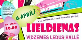 """2.Lieldienās šī gada 6.aprīlī daiļslidošanas klubs """"Slidotprieks"""" sadarbībā ar hokeja klubu """"Kurbads"""""""