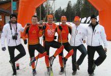 Ikšķiles komanda Latvijas III Ziemas Olimpiade. Foto: ikskile.lv