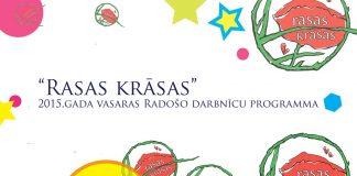 «Rasas krāsas» vasaras radošo darbnīcu bērniem programma. Atēls: Datorsalikums