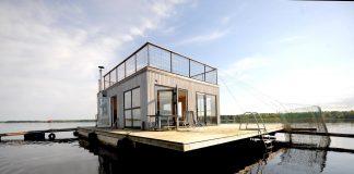 Jauka atpūtas māja uz ūdens pašā Daugavas vidū