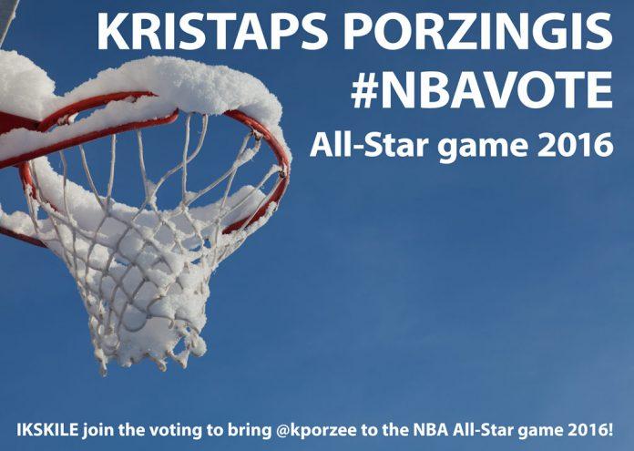 Kristaps Porzingis #NBAvote