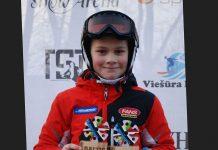 1.vieta Roberts Beikmanis, Baltijas kausa otrais posms, kalnu slēpošanā, Milzu slaloma disciplīnā, vecuma grupā U-12.
