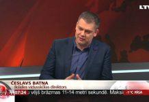 Česlavs Batņa, Ikšķiles vidusskolas direktors, Rīta panorāma, 2016.gada 18.februārī. Foto: Ekrānšāviņš no LTV Rīta Panorāma