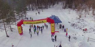 Latvijas čempionāts ziemas triatlonā, Ikšķile, 2016.gada 28.februāris Attēls: COLORTIME video ekrānšāviņš