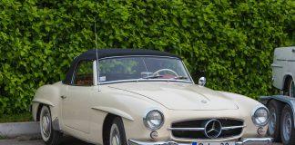 AAK Senlietu kolekcionāru un restauratoru saiets. Mercedes coupe